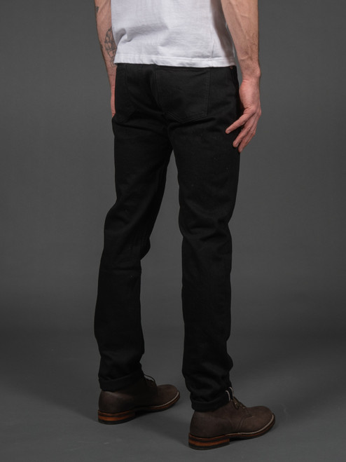 3sixteen CT-222x Lightweight Classic Tapered Double Black Selvedge Jeans