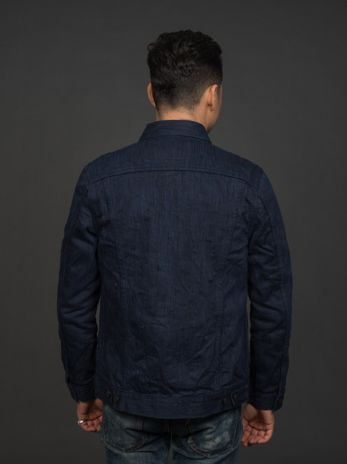 Pure Blue Japan Natural Indigo x Sumi Black Ink Type III Denim Jacket