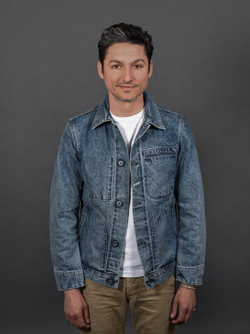 Rogue Territory Supply Jacket - 15 oz Indigo Selvedge River Wash