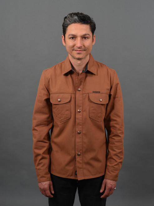 Indigofera Copeland Shirt - Brown Duck Canvas