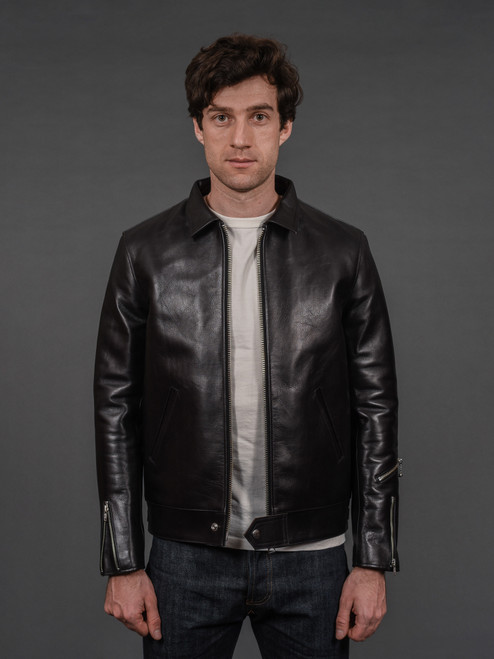 Fine Creek Leathers Tyler Horsehide Jacket