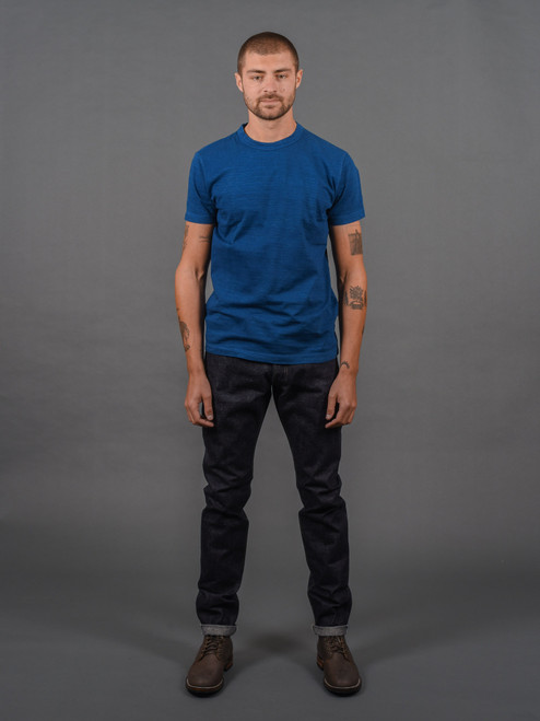 Pure Blue Japan NP-013 Nep Selvedge Slim Tapered Jeans