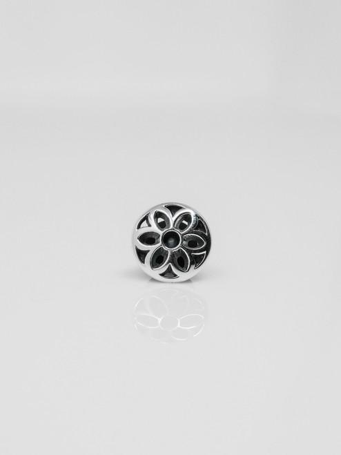 Good Art Sterling Silver Rosette Pin #2