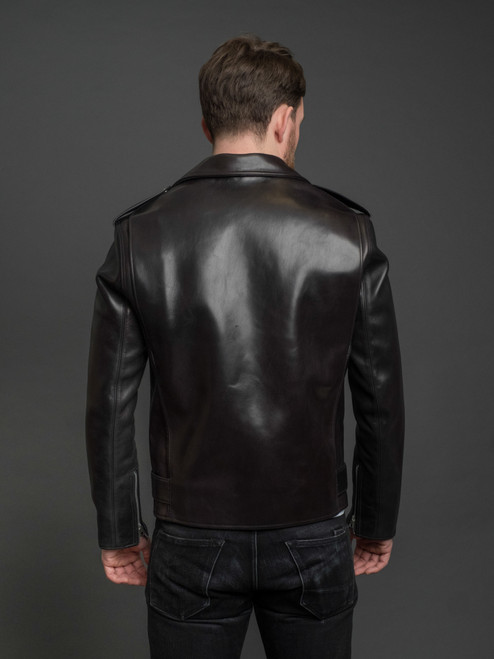 Fine Creek Leathers Leon 2mm Horsehide Jacket
