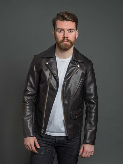 Fine Creek Leathers Leon Custom 1.3mm Horsehide Jacket
