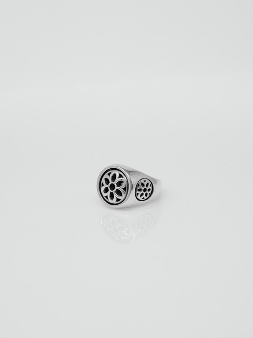 Good Art Sterling Silver Club Ring - Small