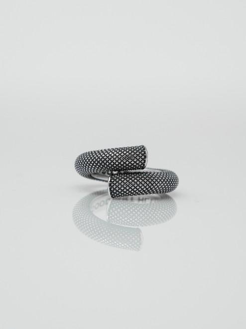 Good Art Sterling Silver Nixon Ring - Knurled