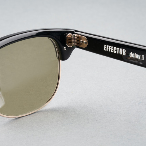 Effector - Delay 2 - Matt Black - Pale Green