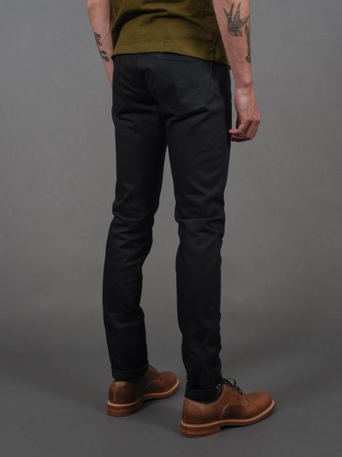 Momotaro R0306-B 15.7 oz Tight Tapered Black Jeans