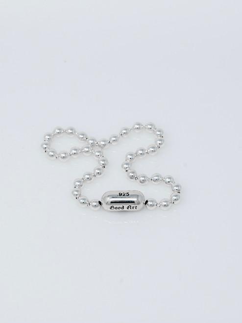 Good Art Sterling Silver #10 Ball Chain Bracelet