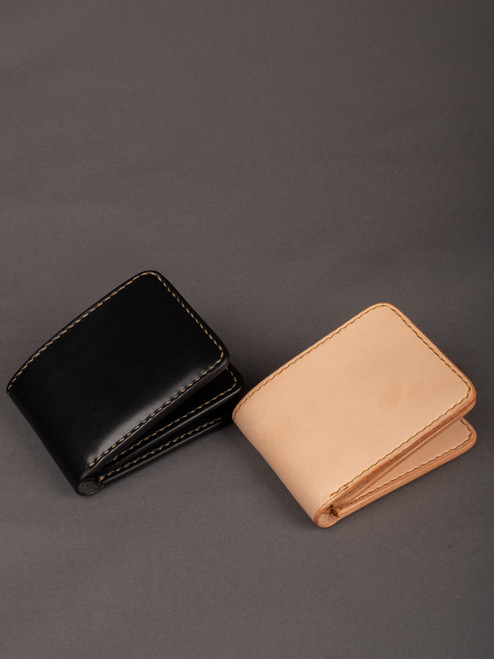 Iron Heart Folding Calf Wallet