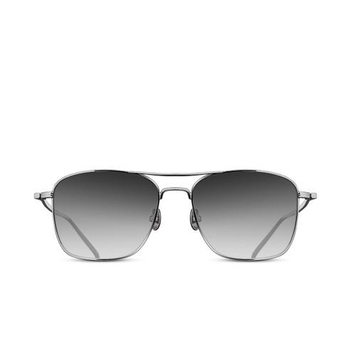 Matsuda M3099 Palladium White Navigator Sunglasses
