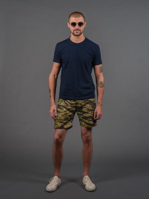 Rogue Territory Fatigue Shorts - Tiger Camo