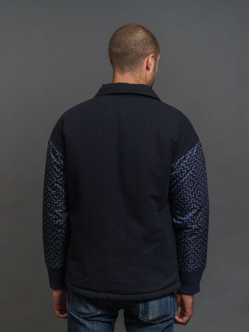FDMTL Reflective Coach Jacket - Navy