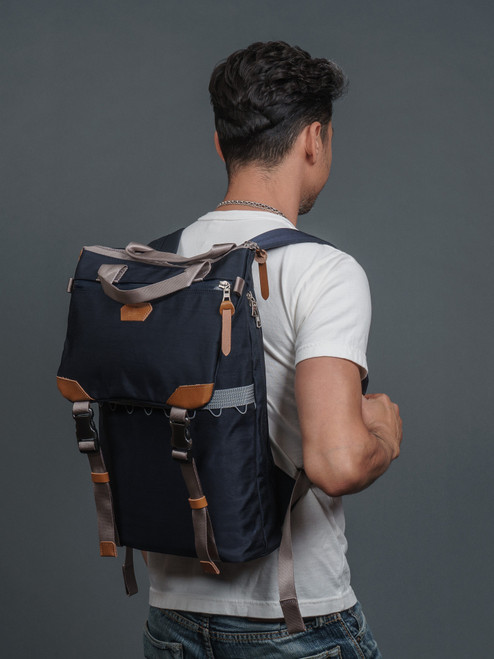 Master-Piece Chambers Backpack - Navy
