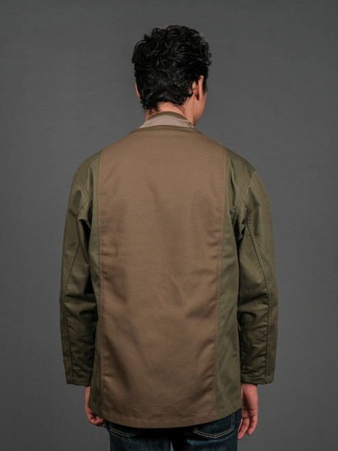 FDMTL Military Haori Jacket - Khaki