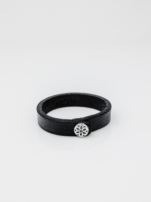Good Art Single Snap Leather Rosette