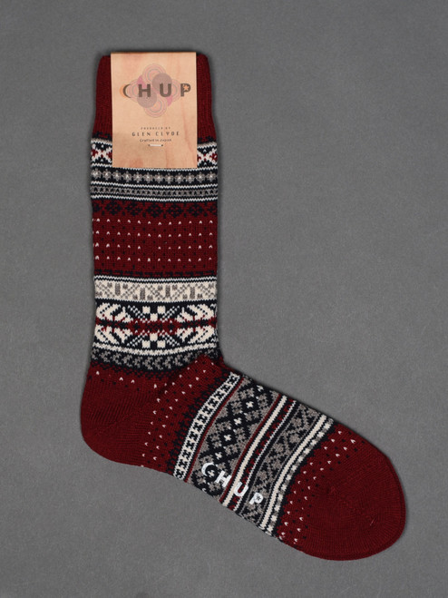 Chup Socks - Ceret - Crimson