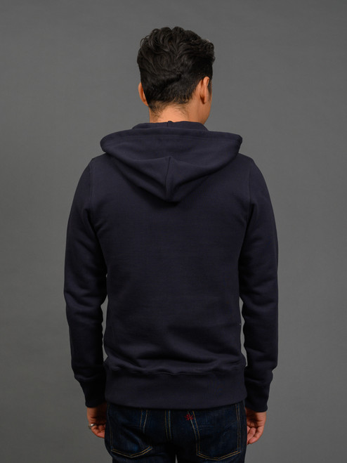 Merz b. Schwanen 382 Heavyweight Hoodie - Night Blue