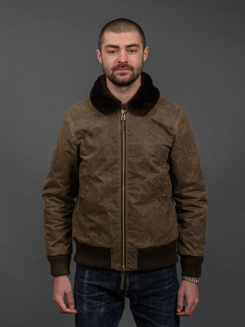 Dehen Flyer's Club Jacket - Dark Tan