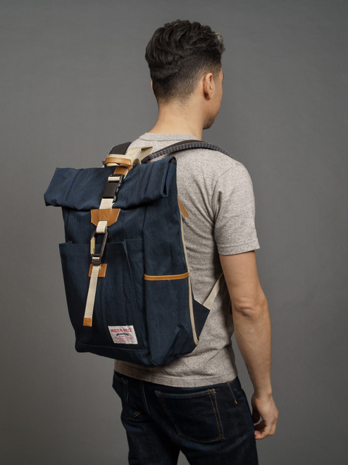Master-Piece Link Rolltop Backpack - All Navy