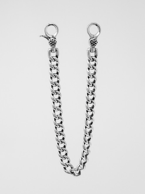 Good Art Big Eye Clip 16 A Wallet Chain - Sterling Silver
