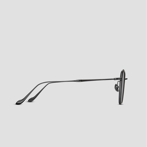 Matsuda M3081 Navigator Sunglasses - Matte Black