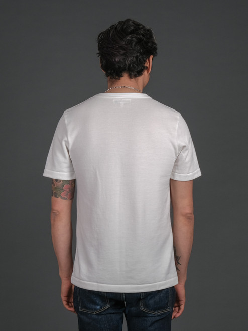 Merz b. Schwanen 214PK Piqué T Shirt - White