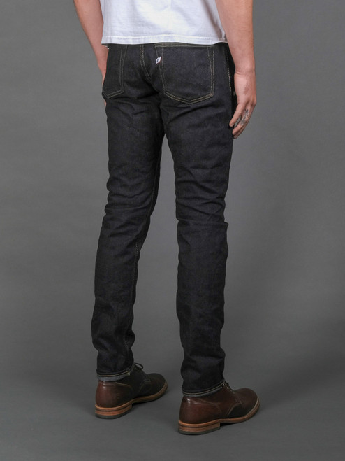 Pure Blue Japan BRK-019-ID Broken Twill Jeans - Relaxed Tapered