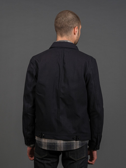 Rogue Territory Open Range Jacket - Indigo Selvedge Canvas