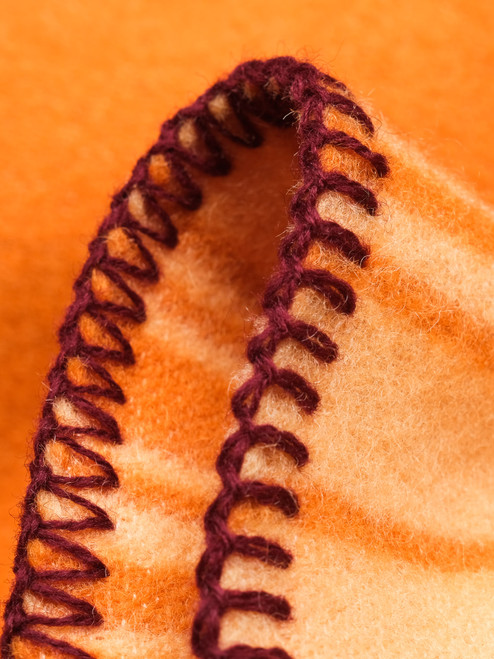 Indigofera 100% Wool Blanket - New Desert