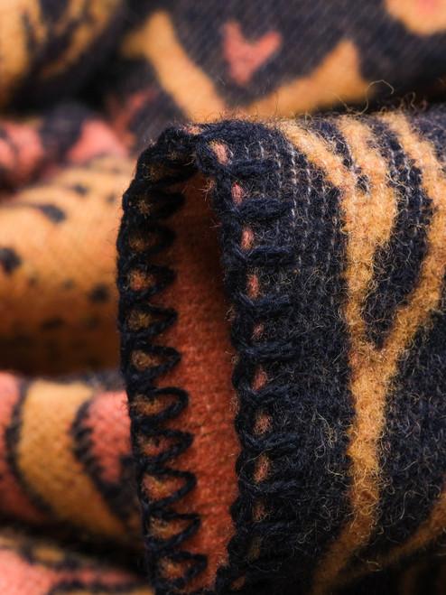 Indigofera 100% Wool Blanket - Tarot XIII