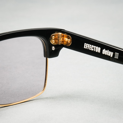 Effector Delay 3 Black Sunglasses - Pale Grey