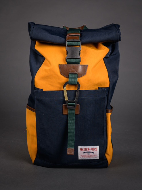 Master-Piece Link Rolltop Backpack - Navy