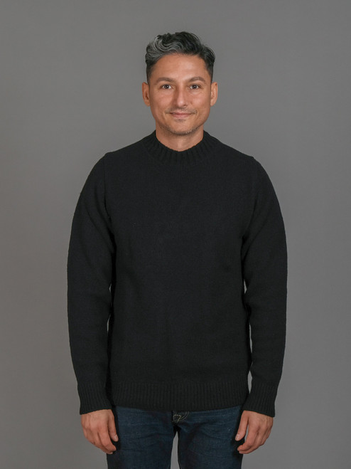 Ten c Extra Fine Wool Sweater - Black