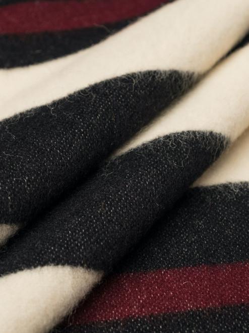 Indigofera 100% Wool Haystack Blanket