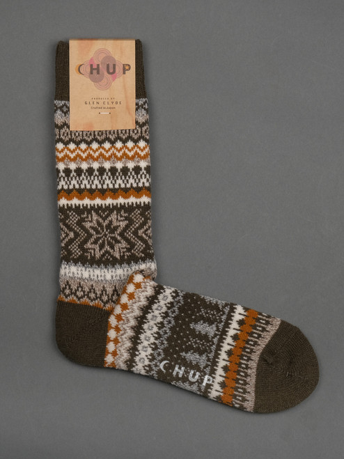 Chup Socks - Qanik - Moss