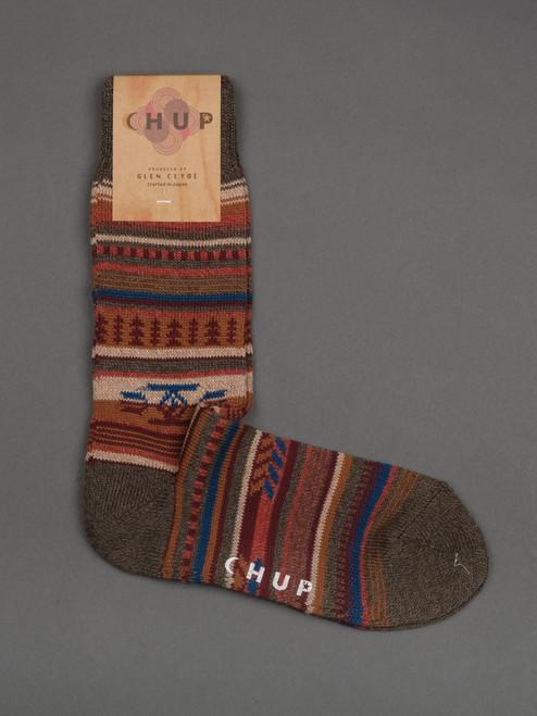 Chup Socks - Chinle - Moss