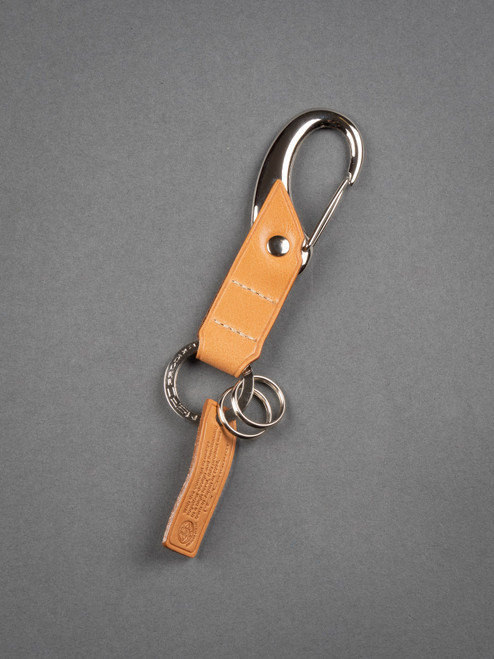 Master-Piece EQ Leather Key Holder - Beige