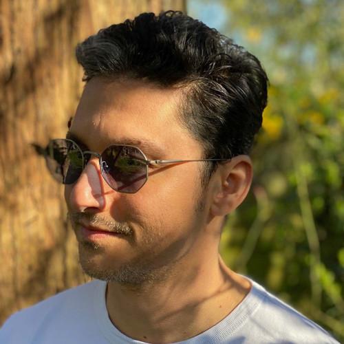 Matsuda M3086 Hexagonal Frame Sunglasses