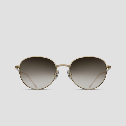 Matsuda M9014 Brushed Gold Sunglasses - Precious Collection