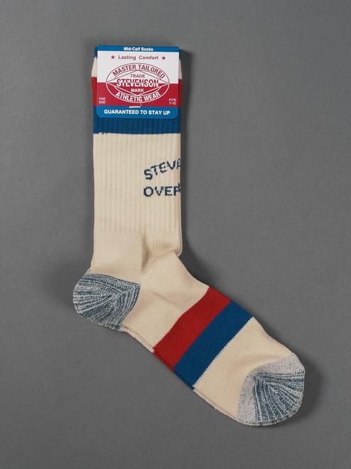 Stevenson Overall Co. Athletic Socks - White