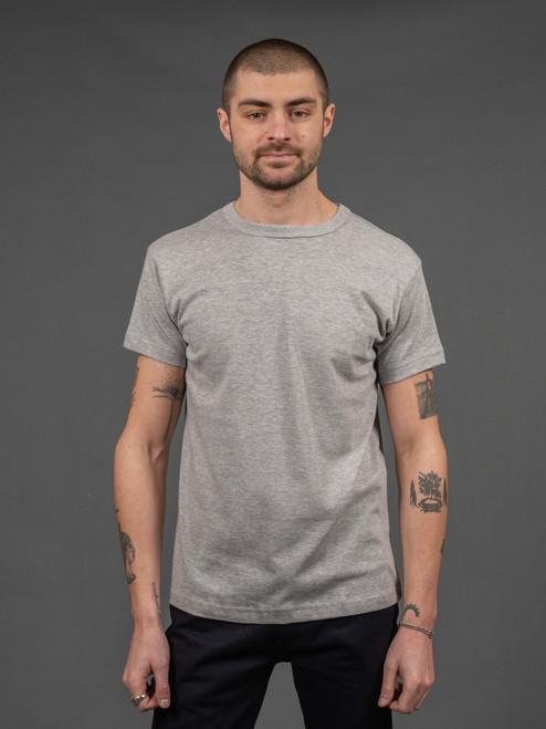 3sixteen Heavyweight T Shirt (2 pack) Heather Gray