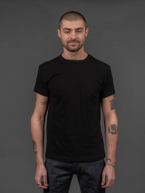 3sixteen Heavyweight T Shirt (2 pack) Black