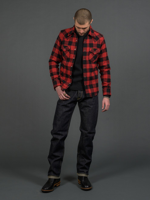 IH-634S Straight Cut Selvedge Jeans