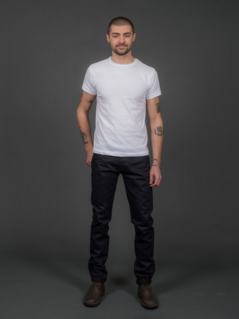 3sixteen ST-120x Slim Tapered Shadow Selvedge
