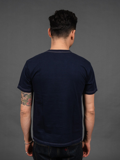 TFH Plain Heavyweight T shirt Navy
