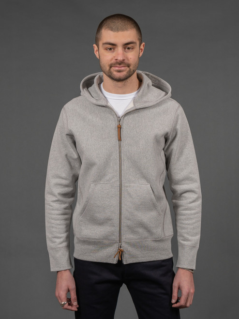 3sixteen Heavyweight Hoody Heather Grey