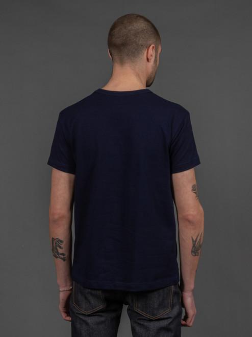 3sixteen Heavyweight T Shirt (2 pack) Indigo