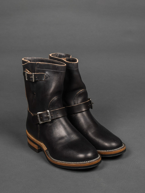 Viberg Engineer Boot - Black Chromexcel